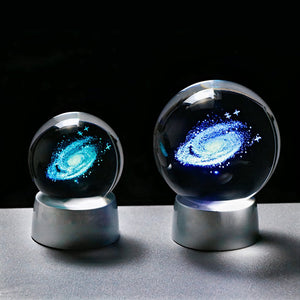 Decorative Sphere Glass Galaxy LED Mood Lamp - Resolute Rambler