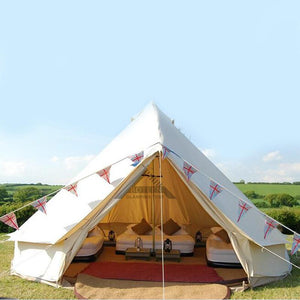 Luxury Yurt/Safari Style Glamping Tent For Backyard