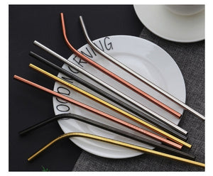 Stainless Steel Straw 4 Pack