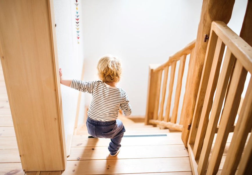 Three tips for childproofing your home
