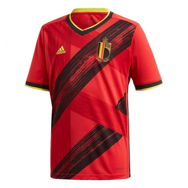 ADIDAS BELGIQUE MAILLOT ROUGE 1920 - Like Sports