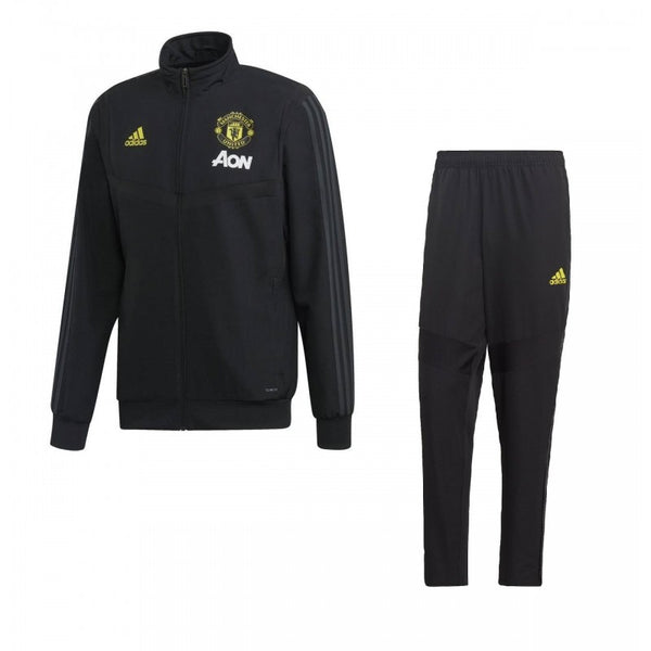 ADIDAS MANCHESTER UNITED TRAINING NOIR JAUNE 1920 - Like Sports