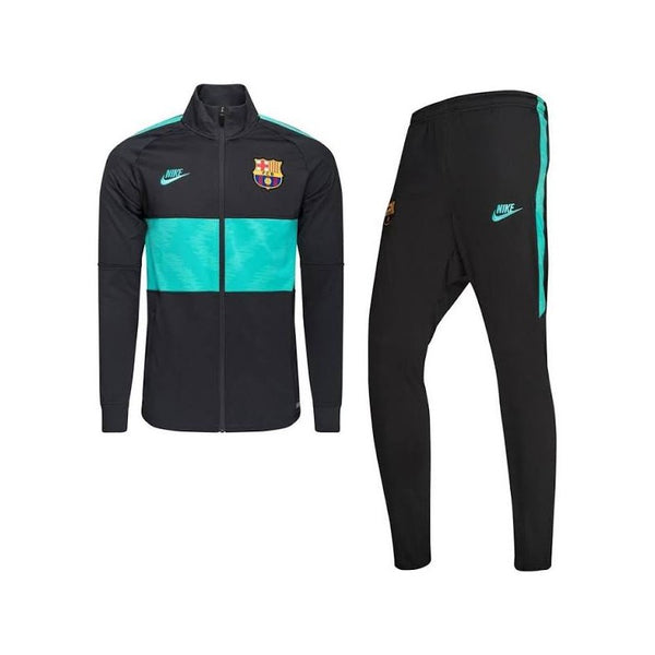 NIKE FC BARCELONE TRAINING NOIR TURQUOISE 1920 - Like Sports
