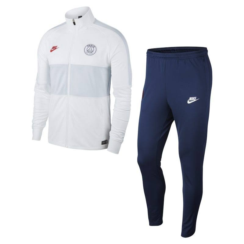 NIKE PSG TRAINING BLANC GRIS 1920 - Like Sports