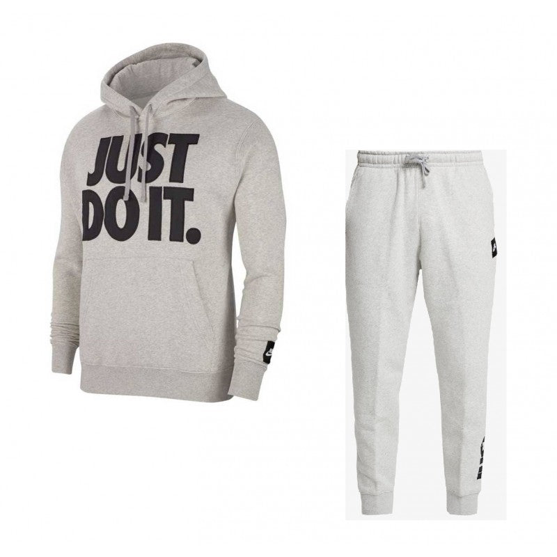 NIKE JUST DO IT SURVÊTEMENT GRIS - Like Sports