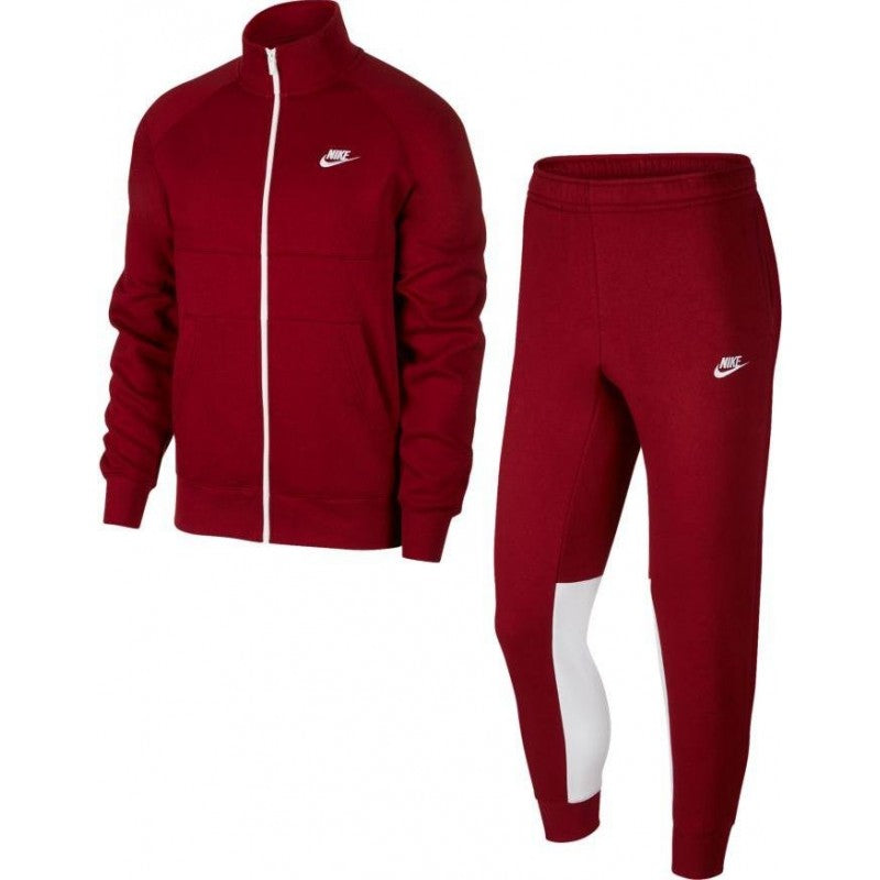 NIKE SURVÊTEMENT ROUGE - Like Sports