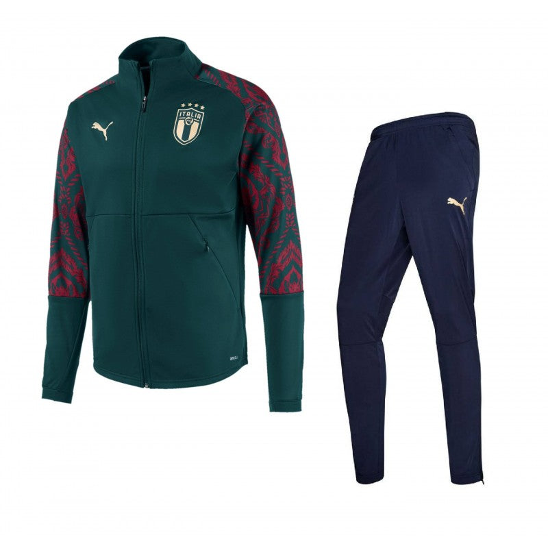 PUMA ITALIE TRAINING VERT 1920 - Like Sports