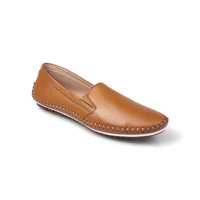 PAMOJO ANA VINTAGE LEATHER LOAFERS