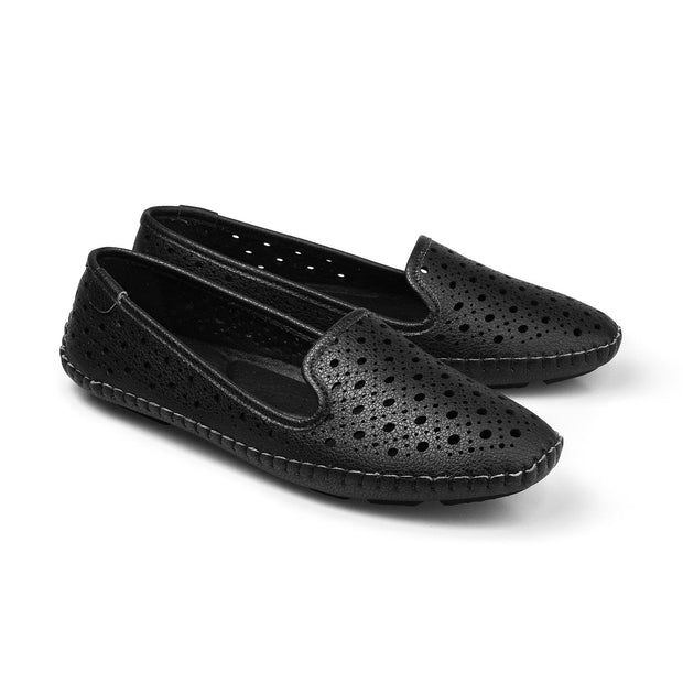 PAMOJO BARBARA SUMMER SLIPON - BLACK