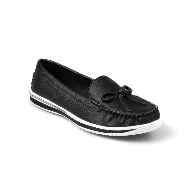 SUPERSOFT™ MOCA BOWTIE LOAFERS