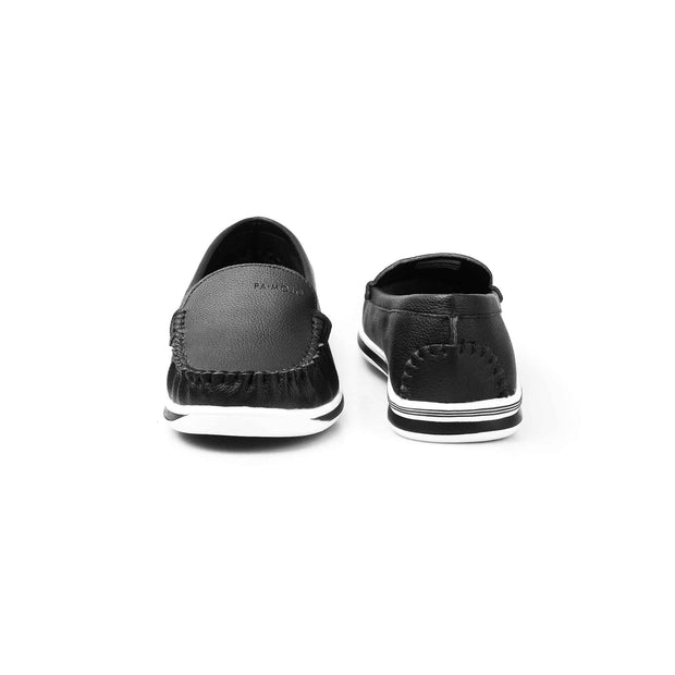 SUPERSOFT™ MOCA COMFY CLOUD LOAFERS - BLACK