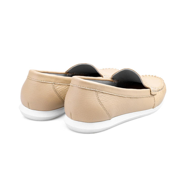 SUPERSOFT™ Charlotte Genuine Leather Loafers - BEIGE