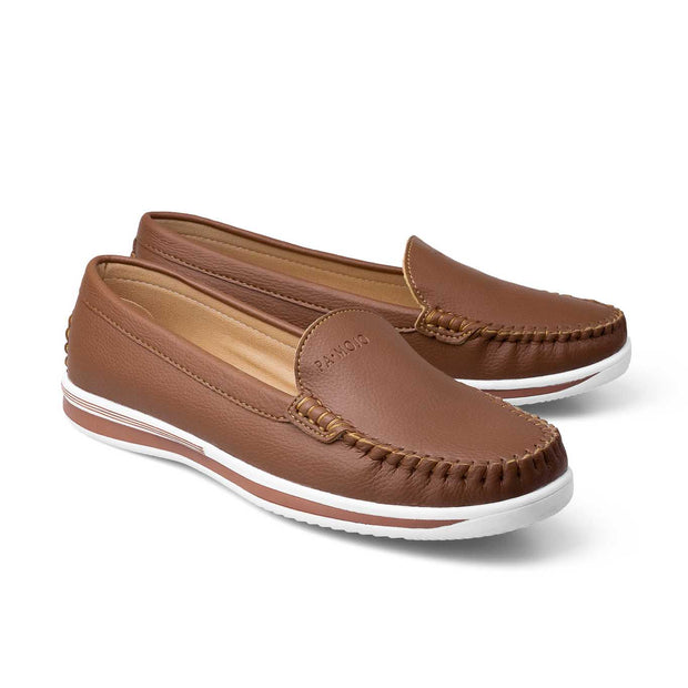 SUPERSOFT™ MOCA COMFY CLOUD LOAFERS - BROWN