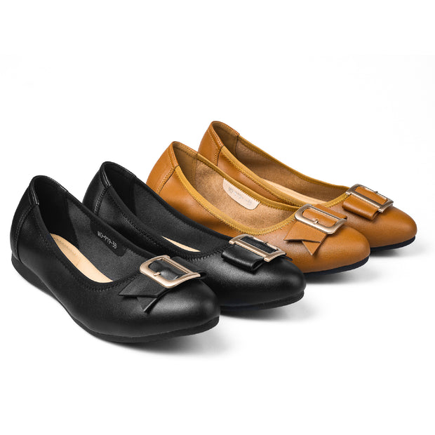 PAMOJO SOPHIE LEATHER LOAFERS