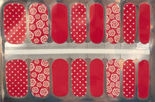Load image into Gallery viewer, All Roses and Dots Nail Wrap #73