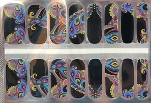 Butterfly Flight At Night Nail Wraps #82