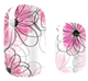 Flower Sketches Nail Wraps #36