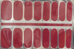 Hot For Red Nail Wraps #106
