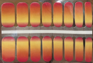 Maluku Sunrise Nail Wrap #147