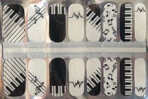 Music To My Ears Nail Wraps #78
