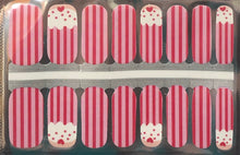 Load image into Gallery viewer, Strawberry Cupcake Nail Wraps #69
