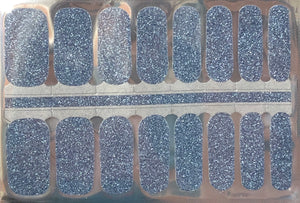 Twilight Glitter Nail Wraps #104