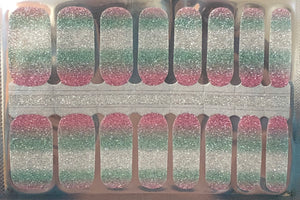 Watermelon Summer Ombre' Nail Wraps #96