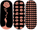 Load image into Gallery viewer, Rose Gold Love Nail Wraps #136