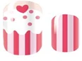 Strawberry Cupcake Nail Wraps #69