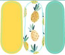 Load image into Gallery viewer, Pineapple Sweet Nail Wraps #162