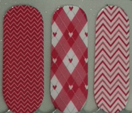 Red Is My Passion Nail Wrap #131