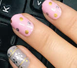 Load image into Gallery viewer, Aztec Dots Nail Wraps #74
