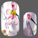 Load image into Gallery viewer, Moody Blooms Nail Wraps #77