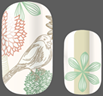 Load image into Gallery viewer, Bird in Paradise Nail Wraps #76