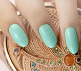 Load image into Gallery viewer, Minty Green Nail Wraps #65