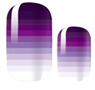 Load image into Gallery viewer, Purple Fade Nail Wraps #60