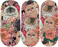 Load image into Gallery viewer, Cats Meow Nail Wraps #66