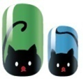 Load image into Gallery viewer, Sneaky Cat Nail Wraps #79