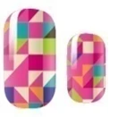 Load image into Gallery viewer, Block Me In Nail Wraps #91