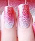 Pink Ombre' Nail Wraps #52