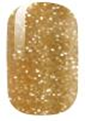 Load image into Gallery viewer, Champagne Glitter Nail Wraps #100