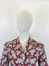 Load image into Gallery viewer, Original 1940s CC41 Utility Marked Moygashol Linen Jacket - By ' Fashionsport '