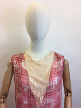 Load image into Gallery viewer, Original 1920s Day Dress - A Stunning Blend of Lace & Cotton Lawn