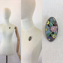 Load image into Gallery viewer, Original 1930's Darling Enamel Dress Clip - In Soft Pastels