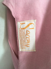 Load image into Gallery viewer, Original 1940's Lightweight Summer Jacket In Blush - ' Sacony Palm Beach' Label