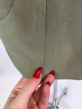 Load image into Gallery viewer, Original late 1940's early 1950's Fitted Jacket - In A Lovely Sage Green