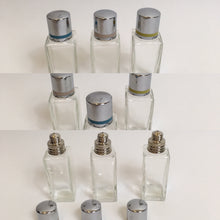 Load image into Gallery viewer, Original late 1930's early 1940's set of 3 Vanity Bottles - Great for the Dressing Table