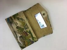 Load image into Gallery viewer, Original late 1930's early 1940's Tourist Bag - Beautiful Detail & Colourings