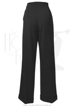 Load image into Gallery viewer, House Of Foxy 1940's Swing Pants in Black