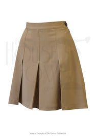House Of Foxy 1940's Shorts in Light Tan